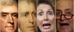 Thomas Jefferson, Andrew Jackson Disowned by Today's Extreme Leftist Democrat Party