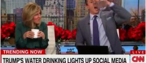 CNN's Chris Cuomo Criticizes Trump's Drinking Water: 'I Hold it Like a Man' [VIDEO]